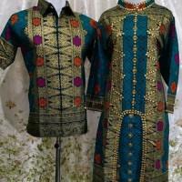 TERMURAH baju batik songket suji palembang couple
