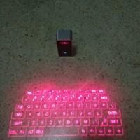 keyboard laser magic cube