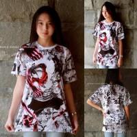 T-shirt Luffy Gear Snakeman Mugiwara Onepiece Fullprint