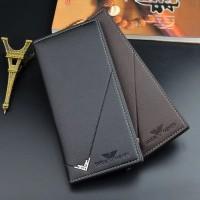 Dompet kulit pria panjang Kartu import DQS003