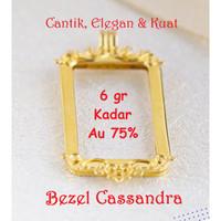 Emas Logam Mulia Antam Bezel Cassandra 6 Gram untuk Emas Batik 10 Gram