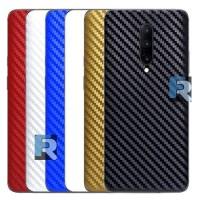 Garskin Xiaomi Redmi 5 Plus Back Cover Sticker Carbon