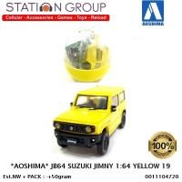 AOSHIMA JB64 SUZUKI JIMNY 1-64 YELLOW
