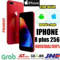 iPhone 8 plus 256 GB NEW original garansi 1 tahun distri Apple