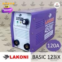 BASIC 123iX Mesin Las Inverter IGBT 450W+ FALCON 123 iX
