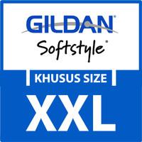 Kaos Polos Gildan SOFTSTYLE Khusus Size XXL