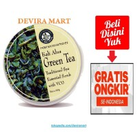 Bali Alus Green Tea Traditional Spa Essential Scrub VCO Lulur Tubuh