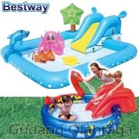 Bestway 53052, 53033 Kolam Renang Anak Keluarga Viking Ular Perosotan