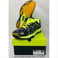 Sepatu badminton bulutangkis RS JEFFER JF 701 original Murah