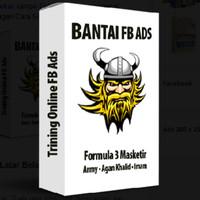 Termurah Buku Bantai FB Ads - Formula 3 Masketir/tutorial