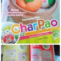 Termurah Buku CHARPAO - CHARACTER PAO-DIANA CAHYA - BAKPAU KARAKTER -