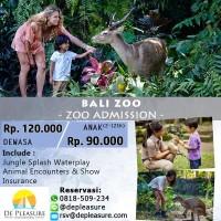 Bali Zoo Addmission untuk Dewasa