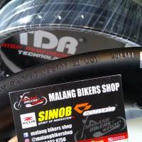 Velg TDR Racing U shape Black 350-17 hole 36 1pcs