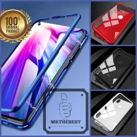 OPPO F9 LUXURY MAGNETIC CASE TEMPERED GLASS BACK COVER 360 PROCTECTOR