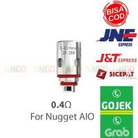 Ip Cores 0.4ohm satuan untuk Nugget AIO Authentic coil artery