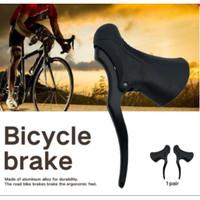Tuas Handel Handle Rem Sepeda Bike Balap Dropbar Alumunium Brake Lever
