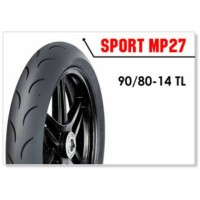FDR Sport MP27 90/80 Ring 14 Ban Motor Kering Race soft compound MP 27