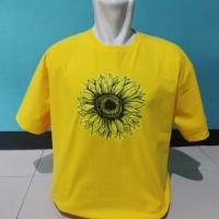 kaos/t shirt/baju keren BUNGA MATAHARI/SUNFLOWER