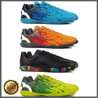 Sepatu Futsal Ortuseight Blizzard IN - Pale Cyan Tangerine Black Fluo