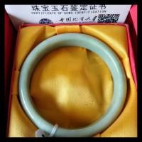 Gelang Batu Giok Asli China Bersertifikat