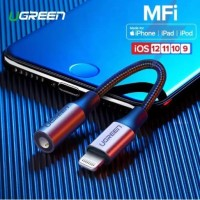 UGREEN Iphone Lightning MFI to AUX 3.5 mm Audio plus Mic Supported