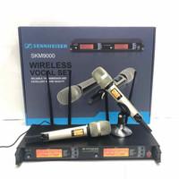Microphone Wireless Sennheiser 4 antena SKM 9000 mic karaoke
