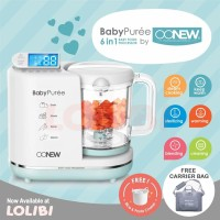 OONEW baby pure Food Processor 6in1 Steamer Blender Mpasi Bayi Green