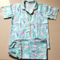 Baju Second Piyama Anak Fit 10-13 th Unicon Tosca