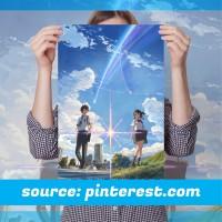 Poster Anime Terlengkap A3 - Kimi no Nawa