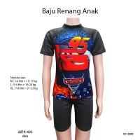 Baju Renang Anak Setelan karakter Cars 4-8 Tahun - ABTK-K02