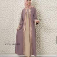 Gamis Baju Muslim Abaya Bordir Gamis Maxi Dress Arab Saudi Bordir