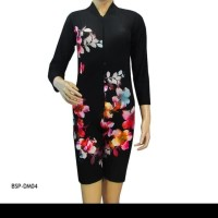 Baju Renang Wanita Tangan Panjang Motif BSP-DM04