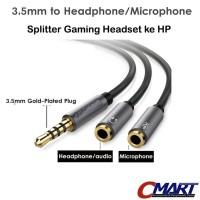 Kabel Aux Audio 3.5mm Headphone & Mic Spliter - CBL-AV35M235F-025MMH