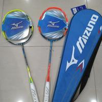 Raket Badminton Mizuno Carbo Pro 801/803 Bonus Fred Tas Original 100%