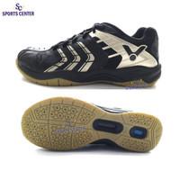 NEW !! Sepatu Badminton Victor VS920 / VS 920 / VS-920 CX Black Gold