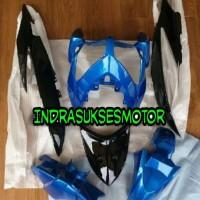 cover body full body halus motor vario cw 110 karbu lama biru hitam