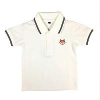 polo Shirt Polos Anak anak warna putih