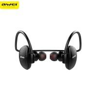 Original Awei a847bl Earphone Wireles Bluetooth Anti Keringat Olahraga