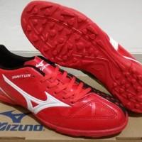Sepatu Futsal Mizuno Wave Ignitus 4 Bright Red Black - TURf
