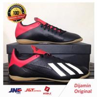 Sepatu Futsal Adidas X 18.4 IN Black Active Red BB9405 Original BNIB