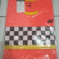 Baju Badminton Yonex Minion- kaos badminton yonex kaos yonex import