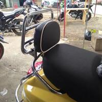 Back Rack/Backrack+Bantalan/aksesoris motor vespa lx s 125 iget lxv