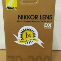 Lensa Nikon 70-300mm AF-P DX NIKKOR 70-300 f/4.5-6.3G ED