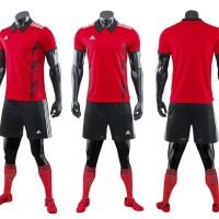 stelan futsal / sepakbola gradeori (baju kaos celana)kode98