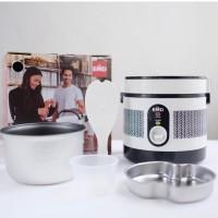 1L Portable Mini Rice Cooker Electric Lunch Box Elektrik Super Cook