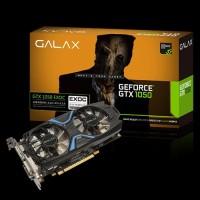 GROSIR Galax Geforce GTX 1050 EXOC Dual Fan 2GB DDR5 128 BIT