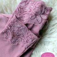 Manset Baju Atasan/Dalaman Wanita Renda Bahan Kaos Premium Ukuran Alls