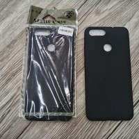 BLACKMATTE Asus Zenfone Max Plus M1 SOFT CASE LENTUR