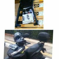 PAKETAN BOX GIVI E43 / PER BREKET BOX SHAD UNTUK MOTOR VARIO 125 /150