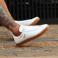 LIMITED STOCK Sepatu ADIDAS GAZELLE OG White Gum Leather Original